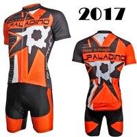 ILPALADINO Cycling Jerseys 2017 Summer Cycling Sportwear Quick Dry Bike Racing Jersey BIB Bicycle Wear Free