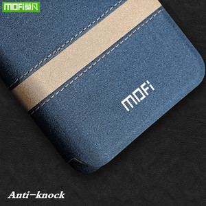 Image 5 - MOFi Flip Case Huawei onur 10 Lite için PU deri TPU Flip kapak Flip telefon kılıfı için Huawei onur 10 Lite coque çapa konut