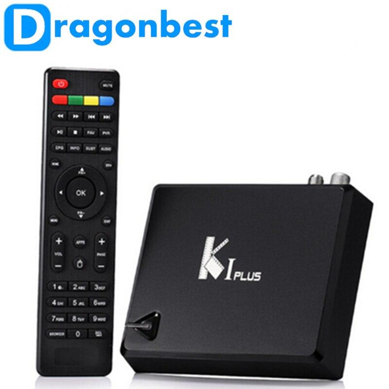 ФОТО 10 pcs Original KI Plus K1 Plus T2 S2 Smart Android TV Box Amlogic S905 Quad Core 64-Bit 1GB/8GB Support DVB-T2 DVB-S2