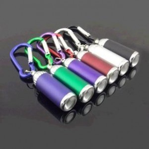 Pmini 3 in 1  LED zoom  light Flashlight Torch Keychain  free shipping