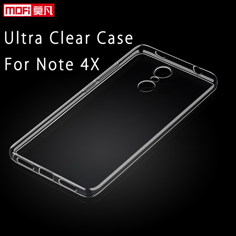 big sale 836d6 c5ad7 US $5.39 |xiaomi redmi note 4x case silicone bumper transparent xiaomi  redmi note 4x 32GB cover back clear TPU coque ultra thin orig-in Fitted  Cases ...