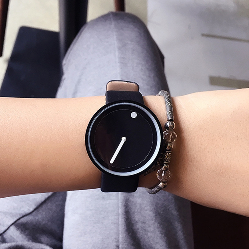 Popular Fashion Minimalist Watch Men Watch Women Geek Women's Watches Men's Watch Clock relogio reloj hombre reloj mujer relogio snobi 2015 reloj relogio 0031