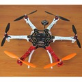 Diy f550 hexacopter pixhawk lucha controller ublox neo-7m gps simonk 30a esc 2212 980kv motor 920kv