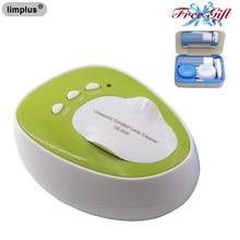 все цены на lIimplus Mini Contact Lens Ultrasonic Cleaner 46KHz Cleaning Machine Daily Care онлайн