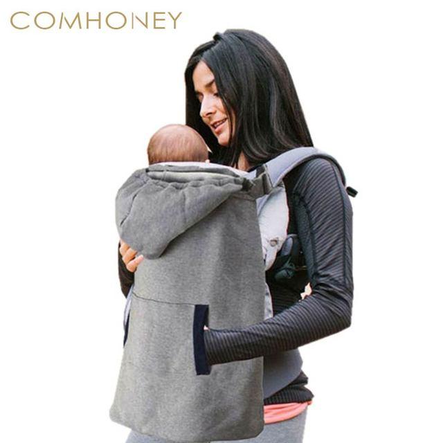 2eaccebb0c9e Porte-bébé Couverture Infantile En Bas Âge Plus de Velours Manteau pour  Sling Wrap Bébé