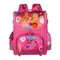 New WINX School Bags For Girls Orthopedic Waterproof Backpacks Children Cartoon School Bags the Monster Mochila escolar Grade1-5