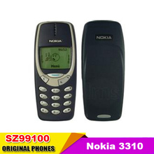 Original Nokia 3310 Nokia 3410 mobile phone GSM 900/1800 Dual Band Multi-languages Support Refurbished