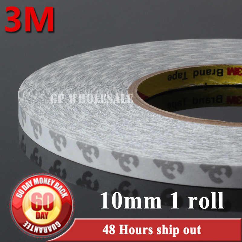 1x 10mm * 50 mètres 3M 9080 2 côtés bande adhésive haute température résister pour bande LED, Auto bande adhésive Anti-bosse