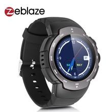"Original zeblaze blitz smart watch mtk6580 quad core android 5.1 tasa de corazón 1.33 ""360*360 p x 480 mah batería banda de la muñeca smartwatch"