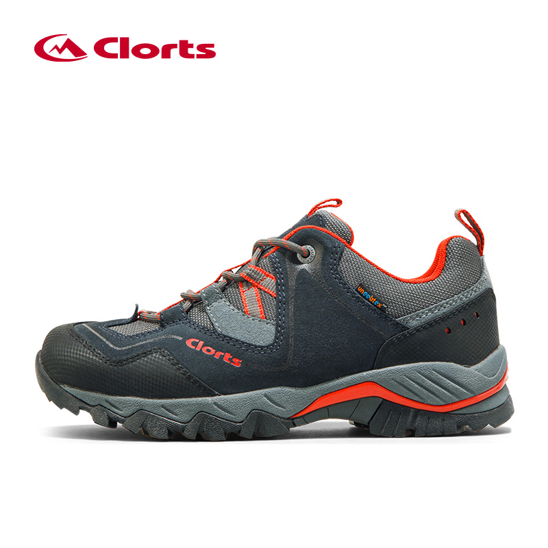 2016 New Clorts Men Outdoor Waterproof Hiking Shoes Waterproof Breathable Climbing Trekking Shoes Men Lighweight Sport Shoes Man clorts men hiking shoes boa lace up outdoor shoes waterproof trekking shoes for men free soldier summer climbing shoes 3d027a