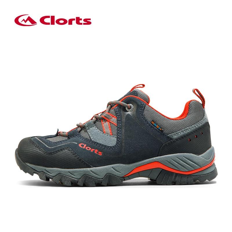 2016 New Clorts Men Outdoor Waterproof Hiking Shoes Waterproof Breathable Climbing Trekking Shoes Men Lighweight Sport Shoes Man 2016 man women s brand hiking shoes climbing outdoor waterproof river trekking shoes
