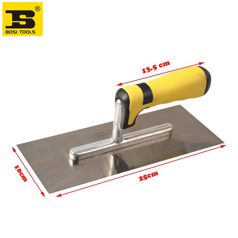 Free Shipping BOSI NEW 250x100mm Concrete Finishing Trowel