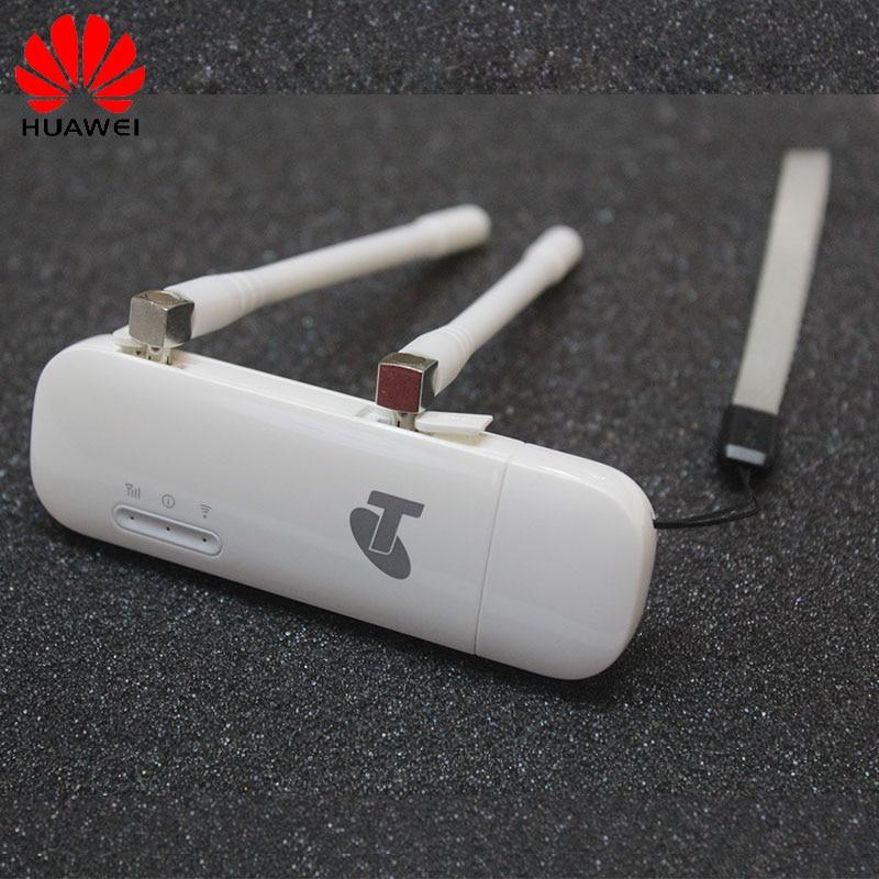Free shipping Unlocked Huawei E8372 E8372h-608 With Antenna 150Mbps 4G LTE  USB WiFi Modem Pocket Wifi
