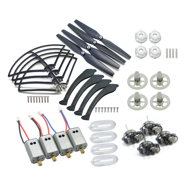 Gear Frame Cover Blades Motor 2A + 2B SYMA X8C X8 X8W VENTURE UFO Quadcopter Rc Spare Parts Helicopter Model Accessories syma s5 rc helicopter spare parts motor a