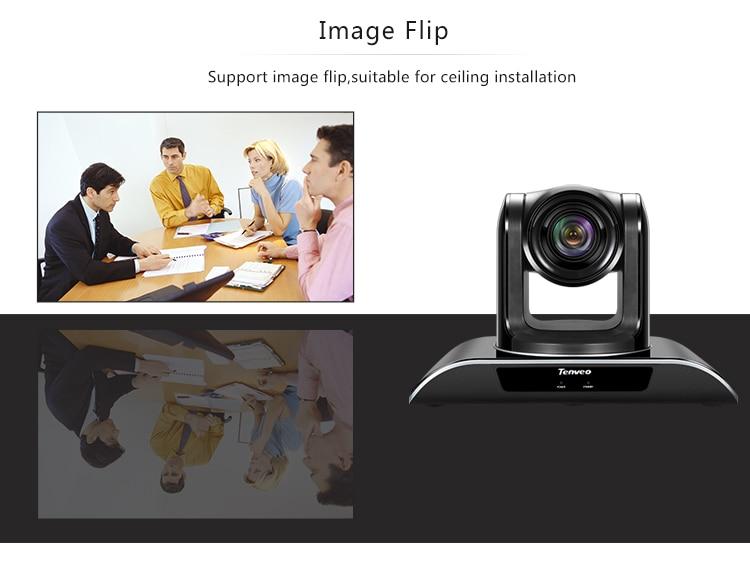 tilt zoom plug and play câmera h.264 teleconferência
