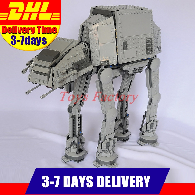 2018 LEPIN 05051 1157Pcs Star Series War The Force Awakens AT Model AT Building Kit Set Blocks Bricks Compatible Toys 75054 rollercoasters the war of the worlds