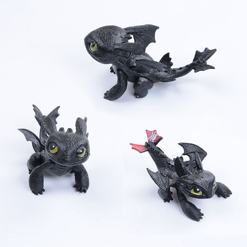 MUQGEW How to Train Your Dragon Action figure Toyless