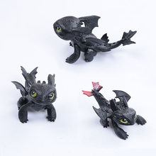How to Train Your Dragon Toothless Action figure Toyless Toothless Toys For Children's Birthday Gifts G0168(China)