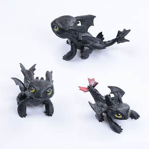 MUQGEW How to Train Your Dragon Action figure Toothless
