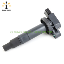 CHKK-CHKK Car Accessory Ignition Coil 90919-T2003 2001-2010 For Toyota Yaris Prius Echo 1.5L UF316 90080-19021 90919-02240