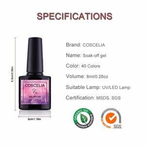 Image 3 - COSCELIA 6/8/10 Colors Gel Nail Polish For Nails Polish UV Gel Nail Set Kit For Nail Art Varnish Gel Set