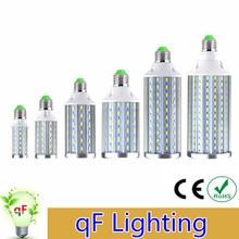 2016 High Power Aluminum PCB Cooling 5730 SMD LED Corn Bulb 85V-265V E27 10W 15W 20W 25W 30W 40W 50W 80W No Flicker LED lamp