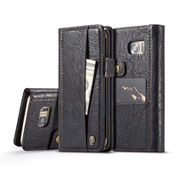 For Samsung S7 Flip Case Wallet Crazy Horse Leather Cover For Etui Samsung Galaxy S7 Edge