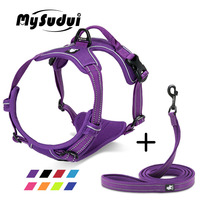 Truelove Pet Dog Harness Leash For Pet Set Large Small Medium Dogs Collars And Harnesses For Dogs Nylon Dog Leash And Harness