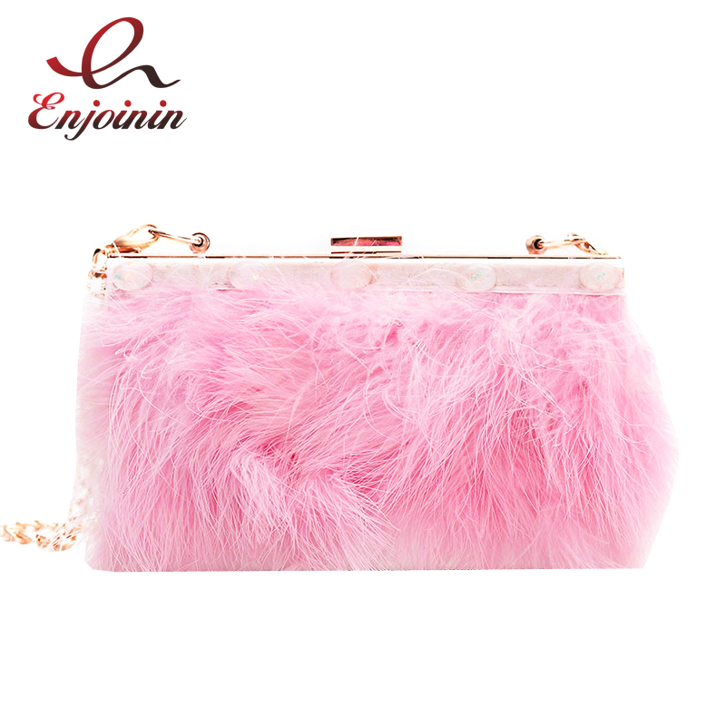 Fashion feather fringed acrylic box shape ladies party clutch bag evening bag chain purse shoulder bag handbag mini purse striped fashion design lingge pu leather mini party clutch bag ladies evening bag chain purse mini shoulder bag handbag flap