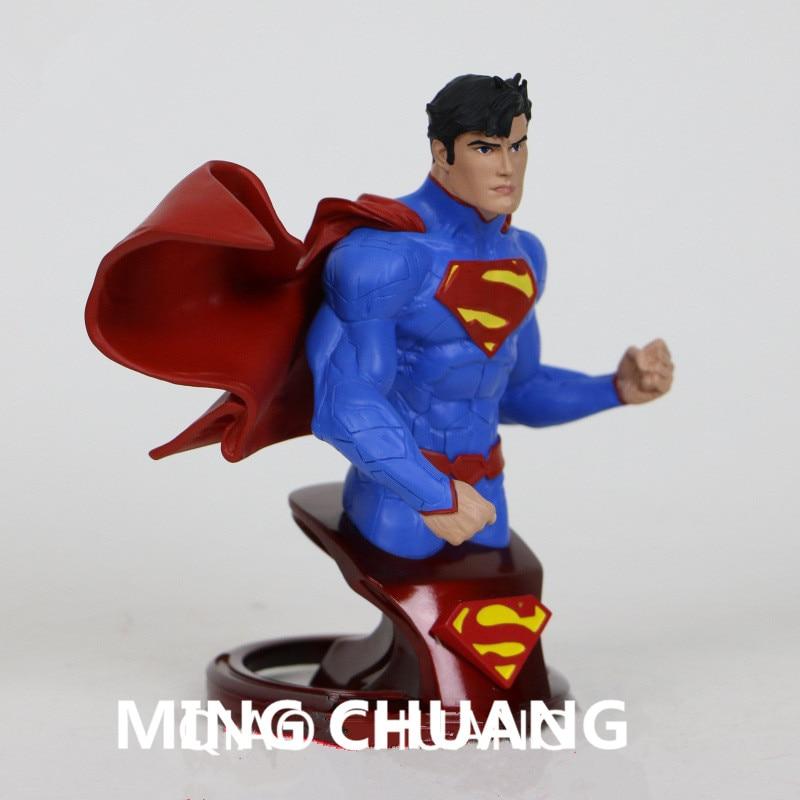"""6/"""" DC Comic Super Eroe Malvagio SUPERMAN Action Figure Giocattoli in pvc COLLEZIONE 18cm"""