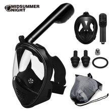 2018 горячая маска для дайвинга маска для подводного плавания Анти-туман полный уход за кожей лица подводное плавание маска для женщин для мужчин Дети плавание трубка Дайвинг оборудование для мужчин t