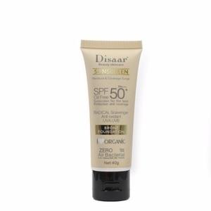 Sunscreen SPF50 PA +++ Waterproof Anti-Aging Face Moisturizing Care Cream BB Control Lasting Sunscreen Skin Oil Concealer Makeup