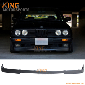 For 84-92 BMW E30 3-Series Mtech Style Bumper Lip Spoiler okulary wojskowe