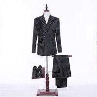 Custom Wedding Suits Made Bruidsjonkers Beste Man Pak Bruiloft Mannen Bruidegom Tuxedos Formele Feestkleding