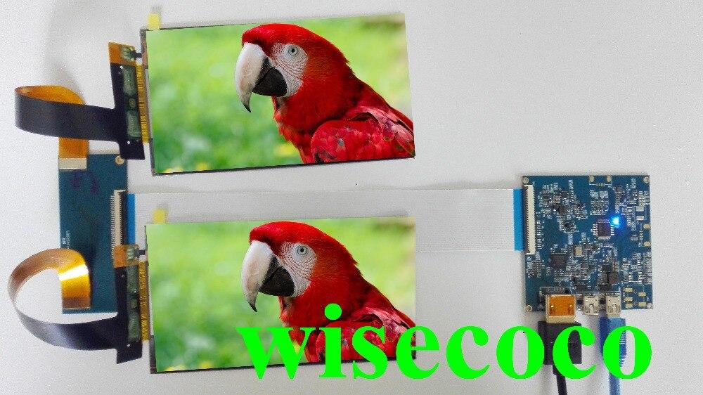 2560*1440 5.5 pouce 2 k LS055R1SX03 double LCD Écran HDMI conseil Pour VR Casque Verre Virtuel Réalité DIY CV1 PC 1440 p Moniteur