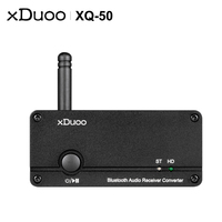 XDUOO XQ 50 Buletooth 5.0 Audio Receiver Converter PC USB DAC ES9018K2M Chip support aptX/SBC/AAC XQ50 Rejuvenate your DAC/AMP