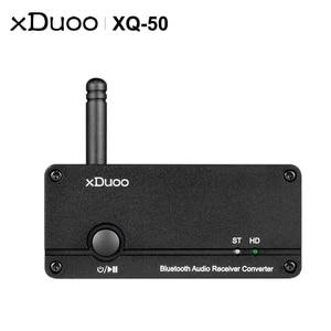 Image 2 - XDUOO XQ 50 Pro XQ 50 ES9018K2M USB DAC Buletooth 5,0, преобразователь аудиоприемника, Поддержка aptX/SBC/AAC, омолаживайте свой ЦАП усилитель