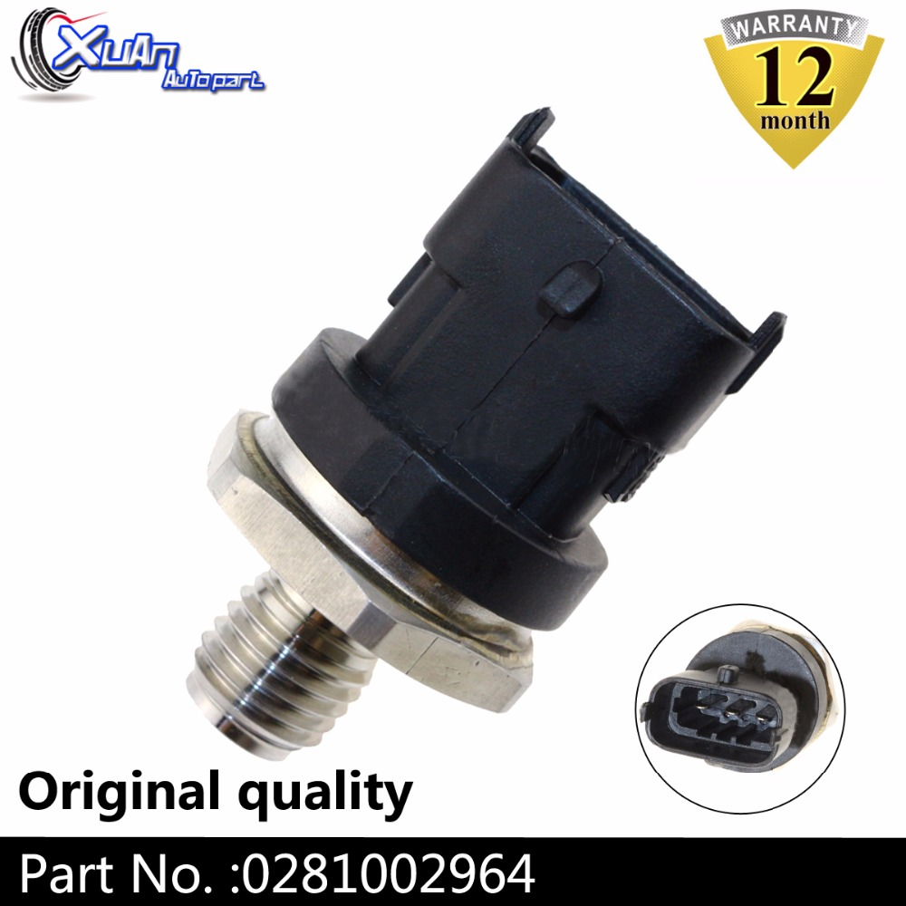 XUAN 0281002964 Diesel Common Rail Fuel High Pressure Sensor Regulator For IVECO MAN LDV CUMMINS VOLVO DEUTZ KHD DAF CASE ALPINA image