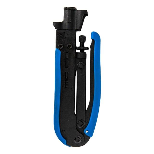 Обжимной провод щипцы плоскогубцы обжимной инструмент RG6 RG59 RG11 коаксиальный кабель щипцы инструмент для F разъем