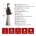 Горячая 60 Вт СВЕТОДИОДНЫЕ Фары Conversion Kit H1 H3 H7 H11 880 6000 К White 6400LM Свет Лампы