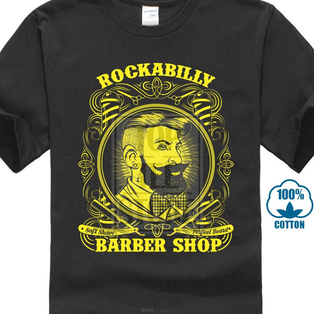 Sosiri noi2017 Rockabilly Barber Shop Hair Shave Razor Foarfece de - Imbracaminte barbati - Fotografie 1