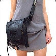 Haulage motor Men Women Waist Pack travel Shoulder Bag Phone Case Holder leg women messenger bags Fashion Gothic Steampunk bag
