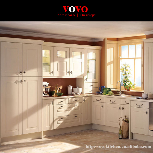 White Imported Real Wood Kitchen Furniture China In Kitchen Cabinets