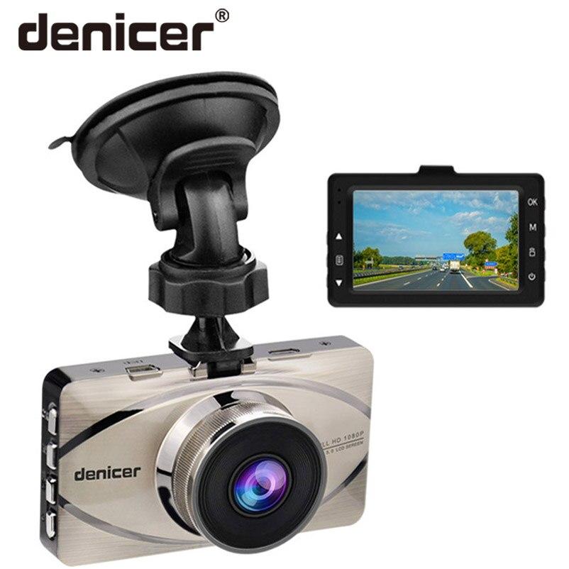 Voiture DVR véhicule caméra Dash Cam conduite enregistreur vidéo 1080 P HD caméra 170 degrés grand Angle objectif 3 pouces écran Vision nocturne