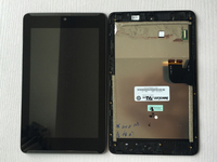 Test Good LCD Display Panel Screen Digitizer Touch Screen Glass Assembly With Frame For Asus Fonepad