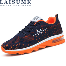 LAISUMK New Mens Comfortable Lightweight Breathable Mesh Shoes Fashion Casual Men Timber
