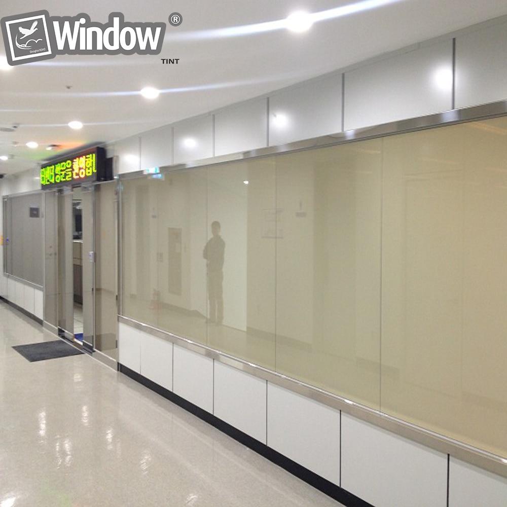 A4 film intelligent blanc échantillon de vitres électriques