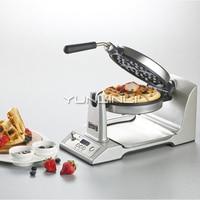 Rotation Type Waffle Maker Intelligent Waffle Making Machine Double-side Heating Electric Baking Pan TSK-2193W