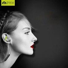 Morul U2 Impermeable IPX7 Auriculares Bluetooth Estéreo Inalámbrico Auriculares Bass Auriculares En Oído Correr Deporte Auricular Magnética NFC