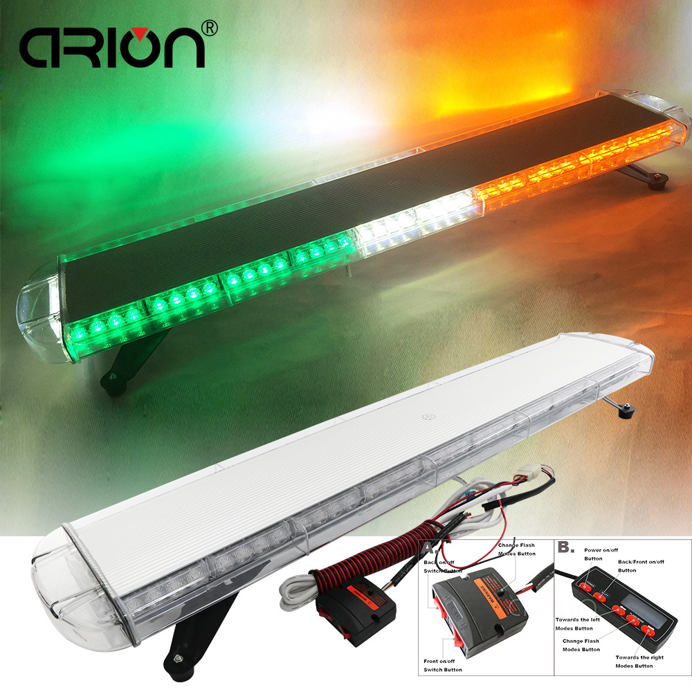Vehicle Strobe Lights >> Us 246 9 40 Off Cirion 47 88led Car Vehicle Led Emergency Strobe Lights Flashing Beacons Recovery Police Work Light Bar Yello White Green 24v In